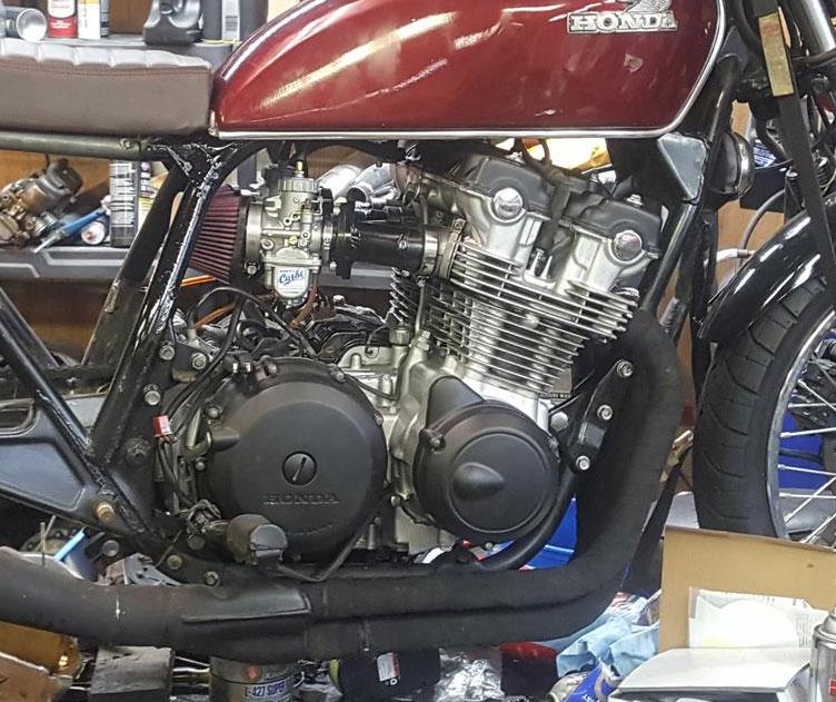 CB750 DOHC Mikuni Carburetor Kit